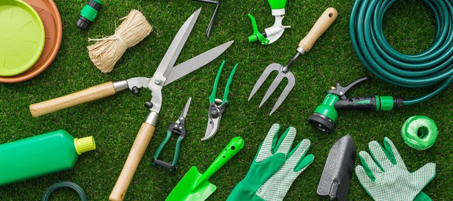 Les outils pour travaux de jardinage